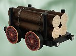 Timber Car - Extra for<br>KWO Smoker Train