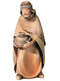 Shepherd with Bowl<br> Dolfi Leonardo Nativity