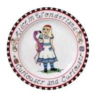 Alice in Wonderland Plate Assortment