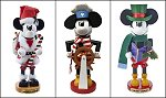All 3 Mickey Mouse<br>Steinbach Nutcrackers