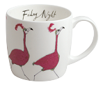 Friday Night - Flamingos<br>Anna Wright - York Mug