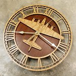B-17 Flying Fortress<br>10 - 14 Inch Wall Clock