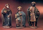 Three Holy Wise Men<br> Belenes Puig figures