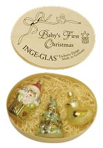 Baby's First Christmas<br>Inge-glas Boxed Gift Set