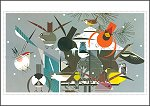 Charley Harper - Winter<br>Boxed Holiday Cards