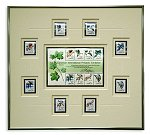 CAPEX 1996 Souvenir Sheet<br>Framed U.S. Stamps