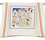 Chicago Tea Towel<br> by catstudio