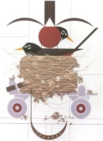 Confiskation<br>Charley Harper Serigraph