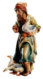 Shepherd with Ducks<br>Dolfi Matteo Nativity