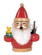Santa<br> Miniature Smoker