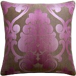 Dahlia Garden Rosewood - Decorative Pillow