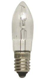 E10 - 3watt Candle Bulbs<br>8-12-14-19-23-55 Volts