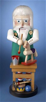 Santa Toy Maker<br> Steinbach Nutcracker