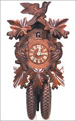Engstler Cuckoo Clock<br>Traditional 5 Leaf  8 Day