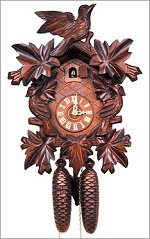 Traditional 5 Leaf Cuckoo Clock