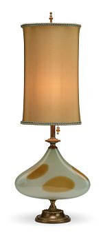 Ethel - Soft Blue Gold<br>Kinzig Design Table Lamp