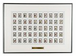 50 State Flowers & Birds<br>Framed U.S. Stamps