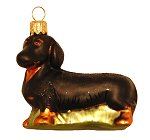 Dachshund - Dog Ornament<br>by Tannenbaum Treasure