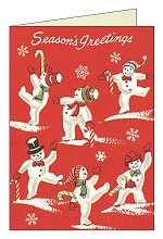 Holiday Snowmen<br>Boxed Cards by Cavallini