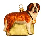 St Bernard - Dog Ornament