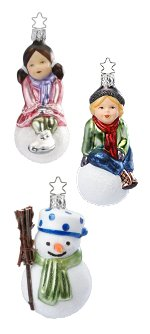 Hannah, Paul & Cool Carl<br>All 3 Three Ornaments