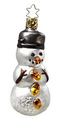 Dressed to the Nuts<br>Snowman with Pot Hat