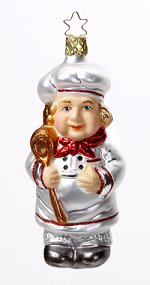 Le Maitre - The Chef<br>Inge-glas Ornament