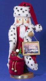 Thomas Kincade Santa<br> Steinbach Nutcracker