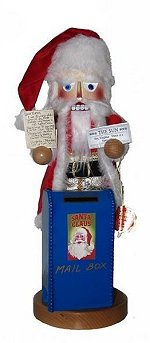 Yes Virginia<br>Steinbach Santa Nutcracker