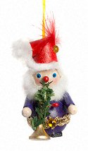 Eleven Pipers Santa - 12 Days  Steinbach Ornament