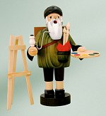Artist with Easel<br>KWO Bearded Smoker
