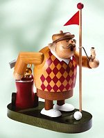 Golfer on Green<br> KWO Smoker