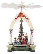 KWO Christmas Time<br>Single Tier Colored Pyramid