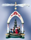 Christmas Time - Santa & Children<br> KWO Pyramid