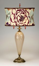 Rachel - Cream<br> Kinzig Design Table Lamp