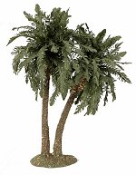 Double Palm Tree<br> 25 cm or 32 cm