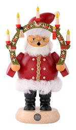 Santa Claus with Candle Arch<br>Müller Smoker