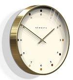 The Oslo Clock Radial Brass<br>design by Newgate