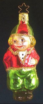 Christmas Boy<br> Old World Christmas ornament
