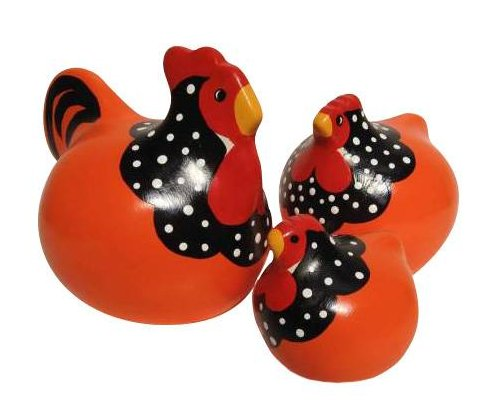 Orange Ancona<br> New Zealand Happy Hens