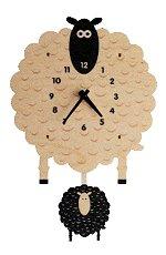 Sheep Pendulum Wall<br>Clock by Modern Moose