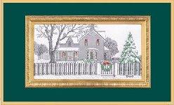 Pencil Sketch - Holiday Home