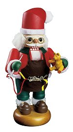 Santa Teddy Maker<br>Richard Glässer Nutcracker
