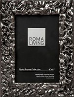 lavo electric pewter roma photo frame