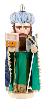 Caspar - Three Wise Men<br>Steinbach Nutcracker