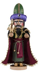 Melchior - Three Wise Men<br> Steinbach Nutcracker
