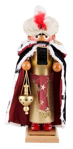 Balthasar - Three Wise Men<br>Steinbach Nutcracker