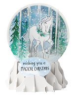 Magical Christmas<br>2018 Pop-Up Snow Globe Card