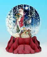 Father Christmas<br> 2013 Pop-Up Snow Globe Card