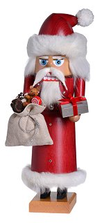 Santa with Crystals<br>Small KWO Nutcracker